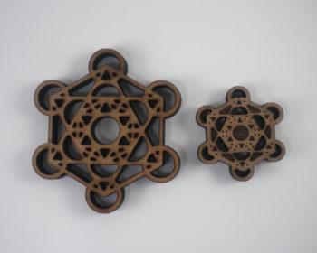 Metatron's Cube Pendants