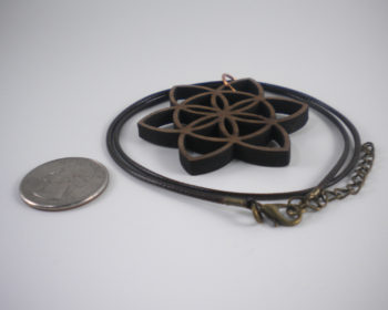 Large Seed of Life Pendant