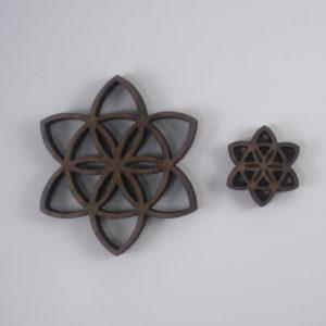 Seed of Life Blossom Pendants
