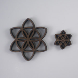 Seed of Life Blossom Pendants