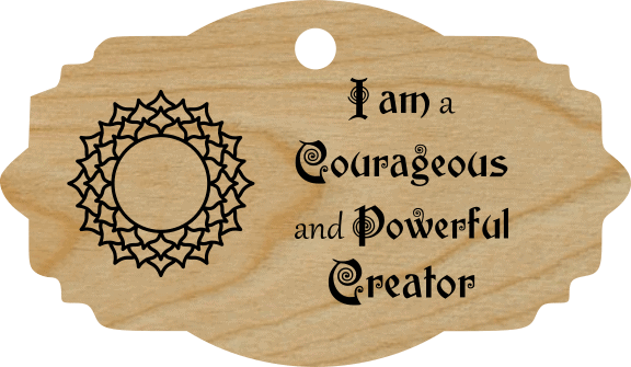 I am a Courageous and Powerful Creator