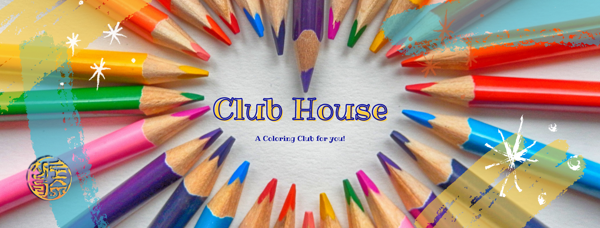 Club House a coloring club for you