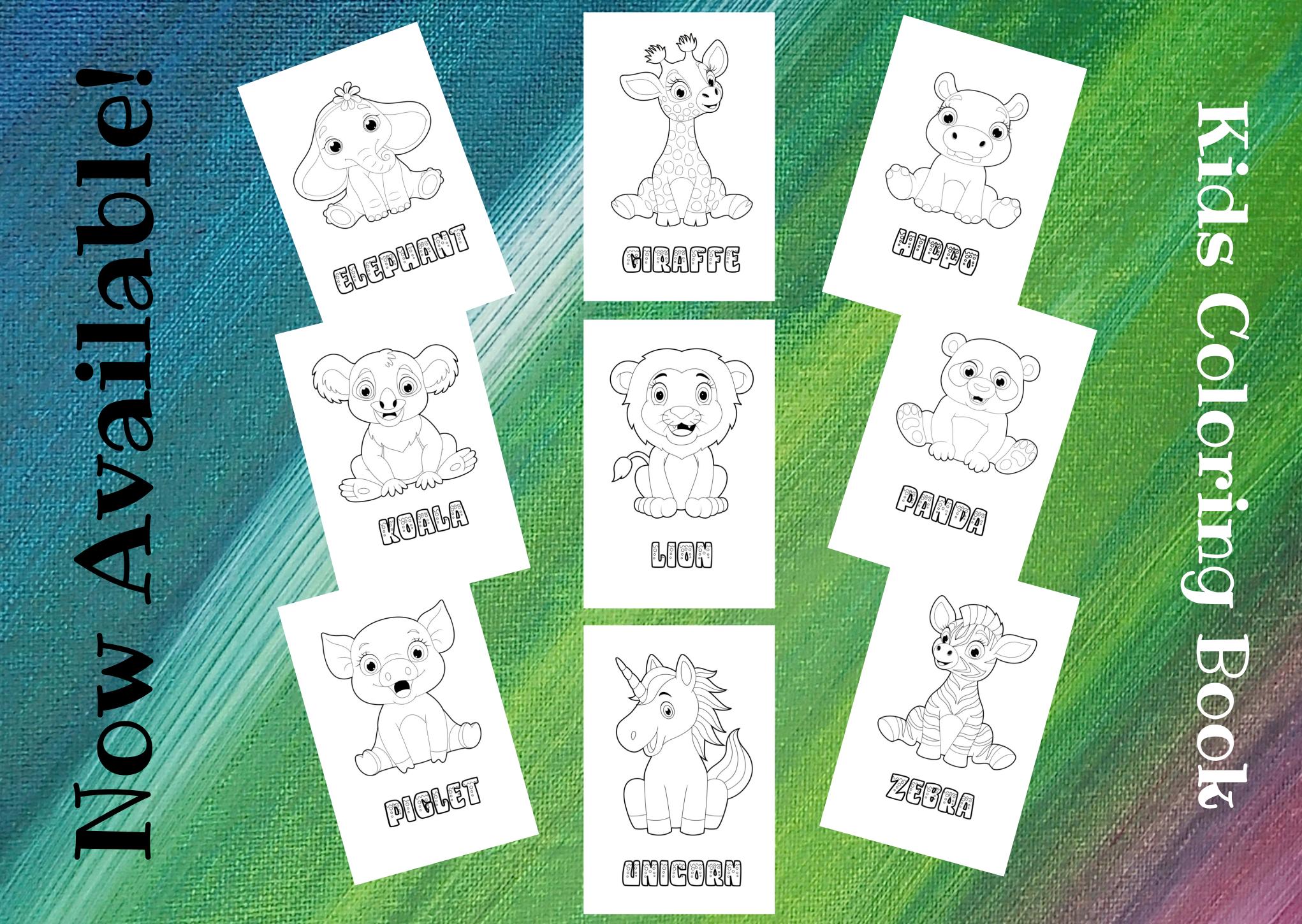Animal Fun Characters